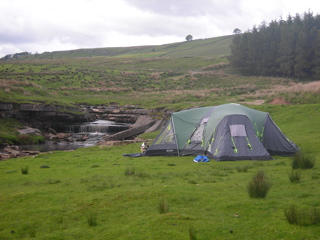 Campsite at Garsdale Head