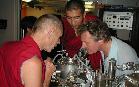 Monks in nano-lab